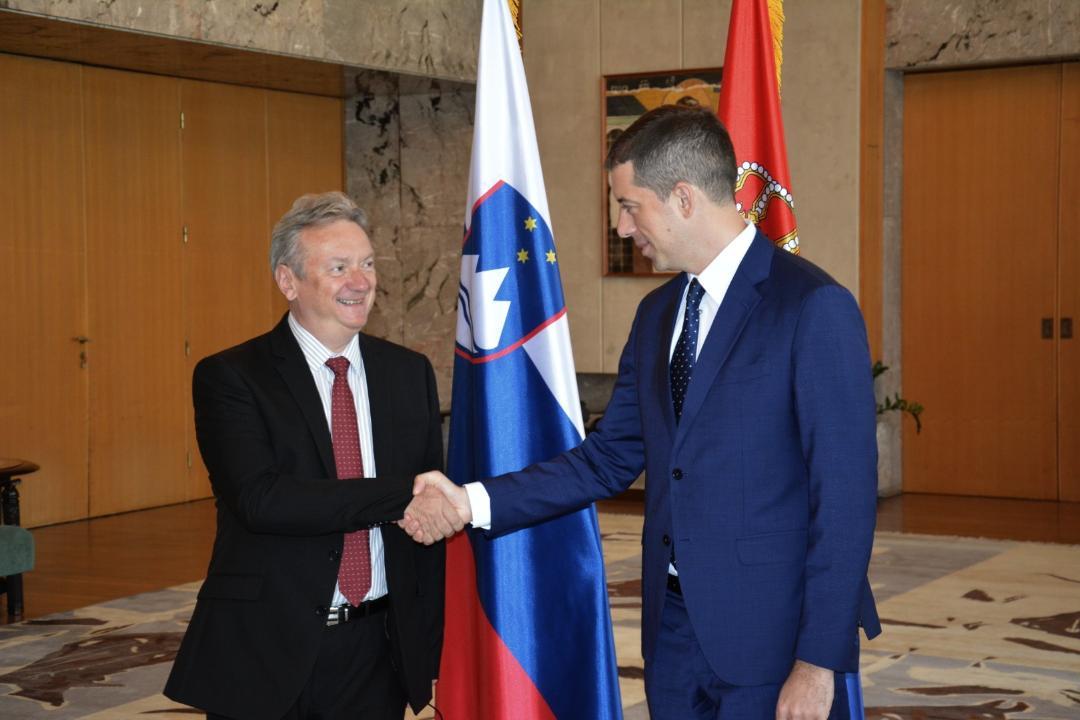 Đurić  sa ambasadorom Slovenije: EU da izvrši direktniji pritisak na Prištinu