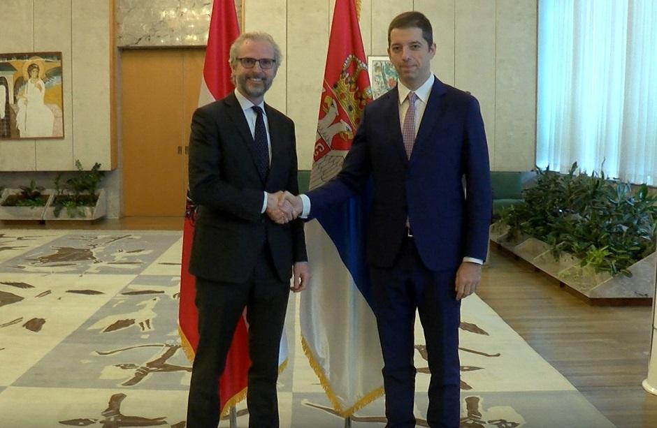 Đurić sa ambasadorom Austrije, Srbija neće dozvoliti otimanje Trepče