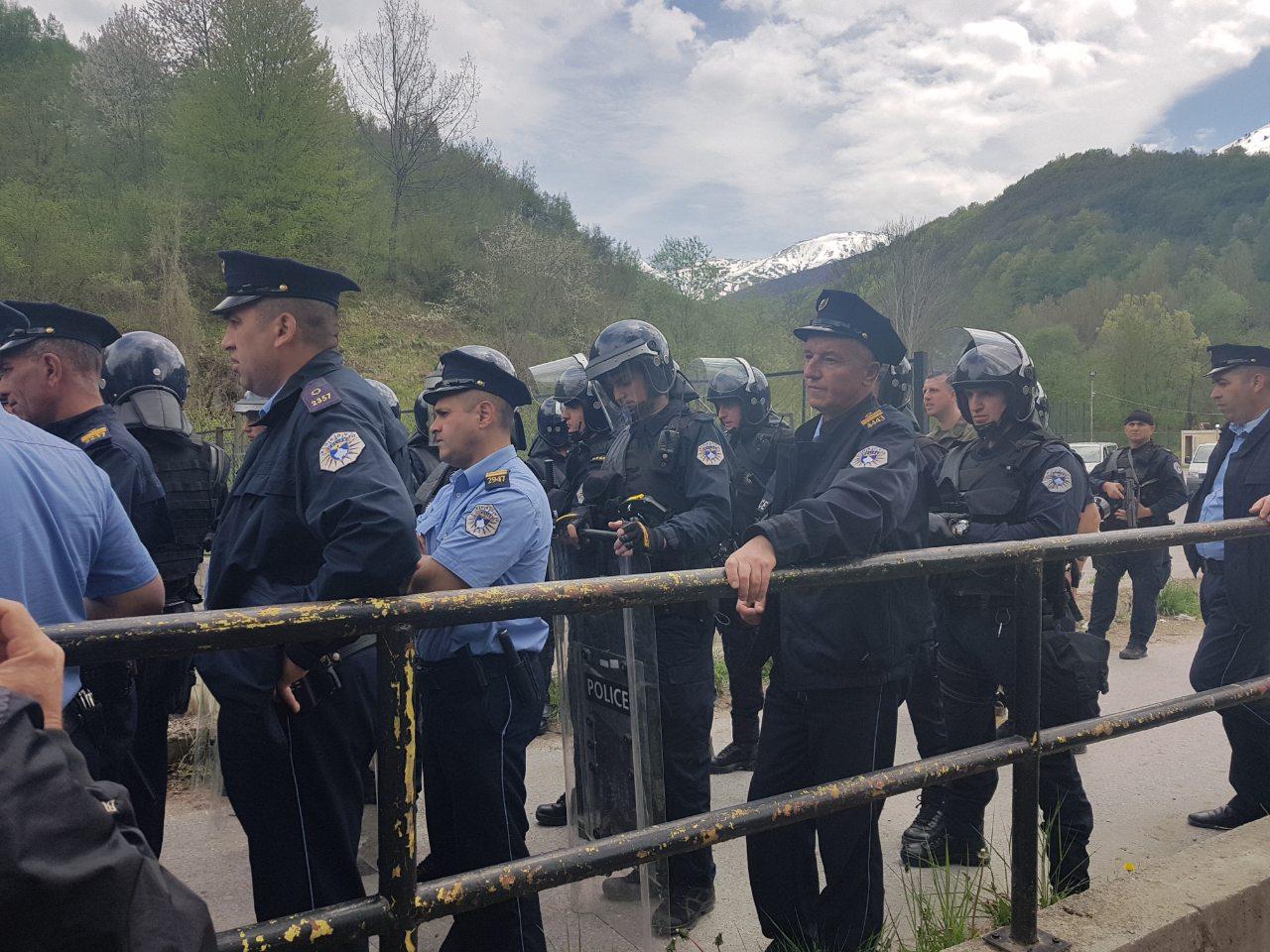 Desetine povređenih u intervenciji policije kod Štrpca