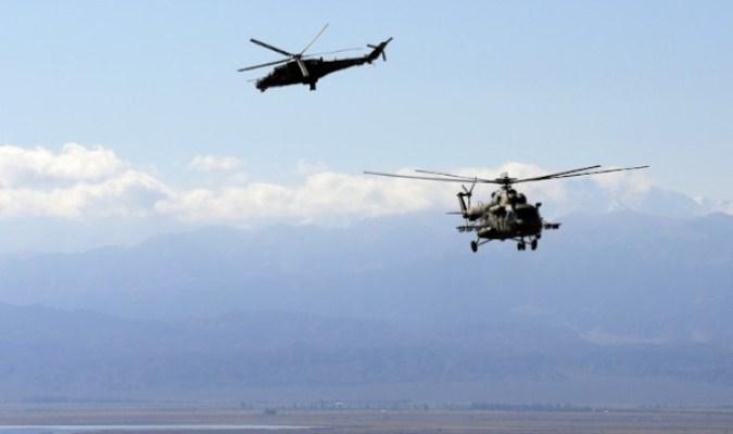 Rusija rasporedila vojne helikoptere na severoistoku Sirije