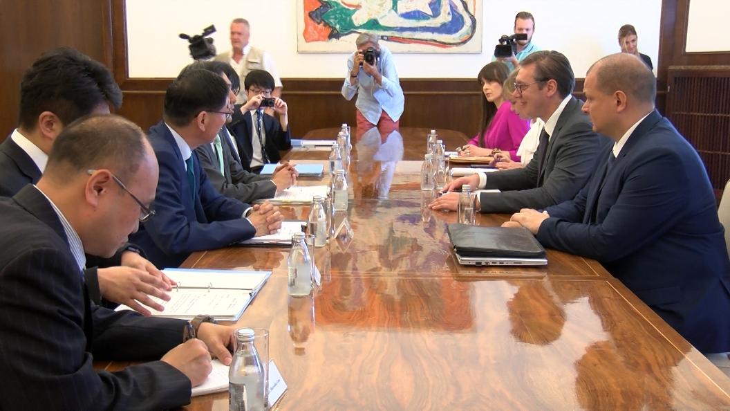 Vučić s Kuićijem: Srbija ključna u regionu za promociju mira