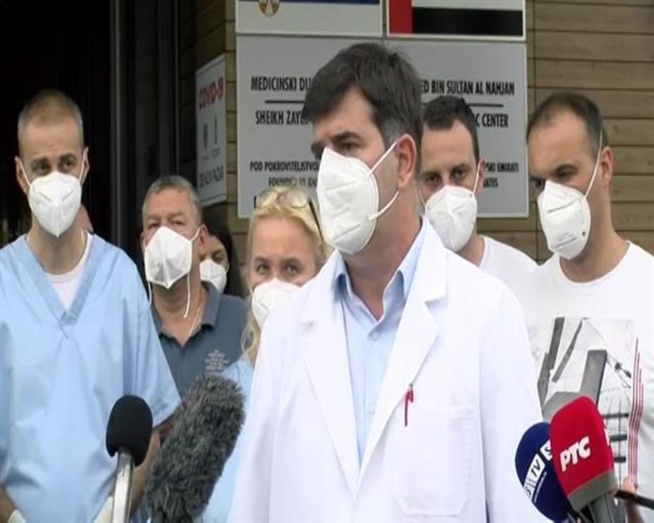 Novi Pazar: Stiglo 22 lekara i medicinskih sestara na ispomoć