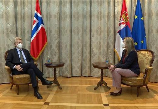 Podrška Norveške društveno-ekonomskom napretku Srbije