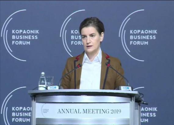 Brnabić: Najveći zadatak Vlade Srbije da transformiše ekonomiju