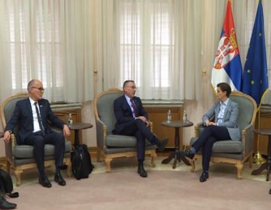 Brnabić i Koler o saradnji Srbije i Međunarodne organizacije rada