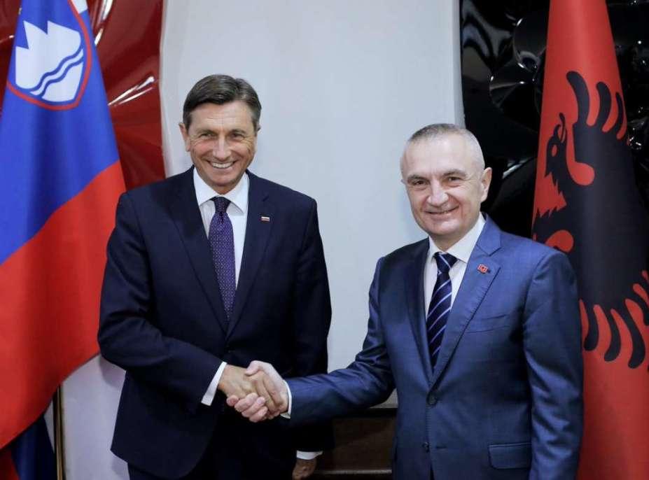 Pahor u Tirani: Ne podržavam ideju promene granice