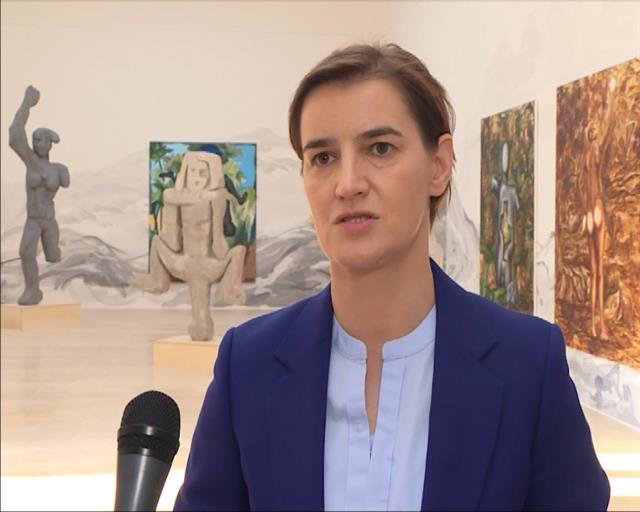 Brnabić: Srbija je spremna odmah da nastavi dijalog