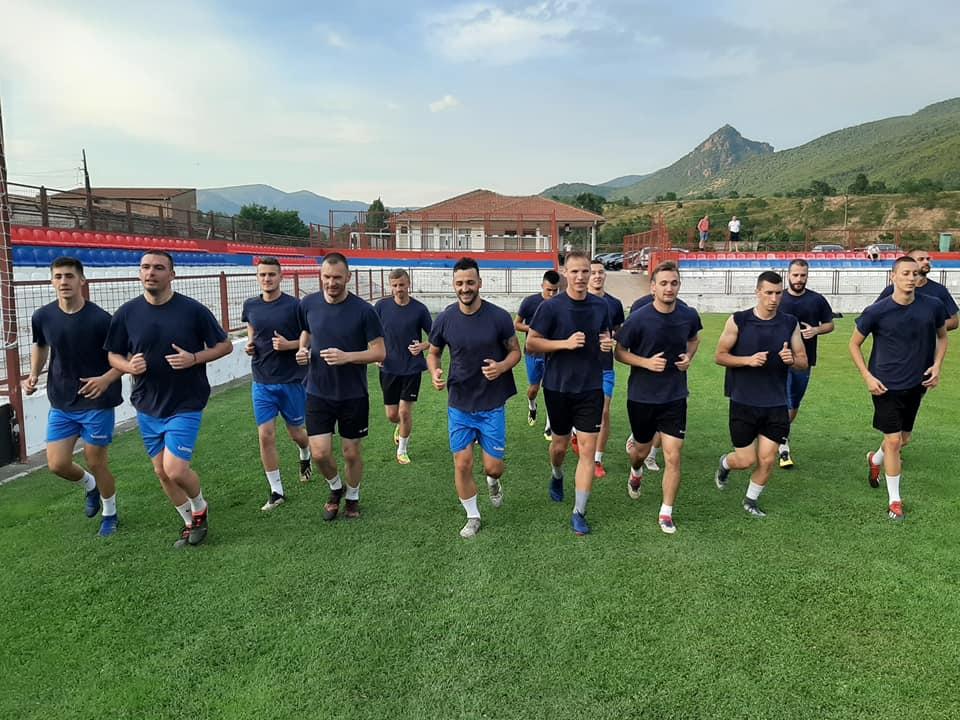 Fudbaleri 'Trepče' počeli pripreme za novu sezonu