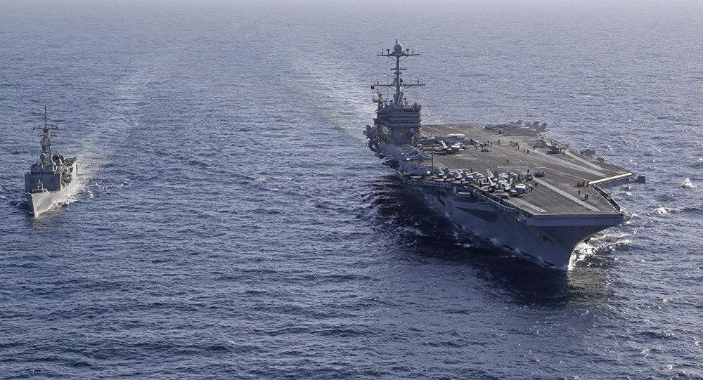 Dva američka ratna broda prošla kroz Tajvanski moreuz
