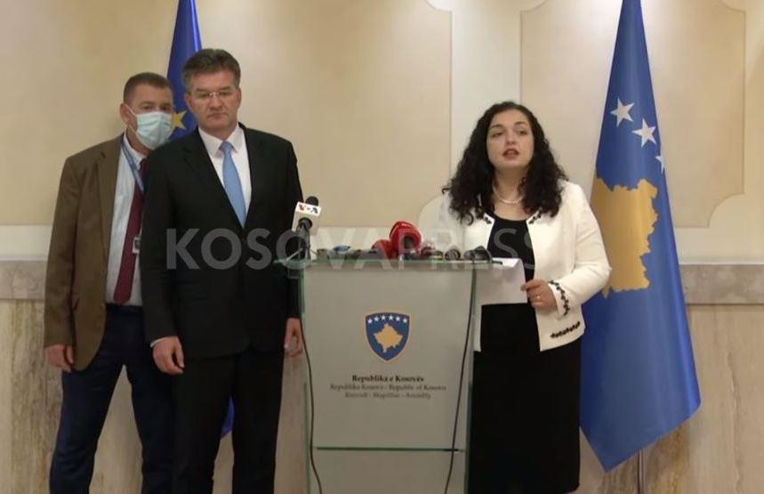 Osmani Lajčaku: U dijalogu ne treba pregovarati o teritorijima