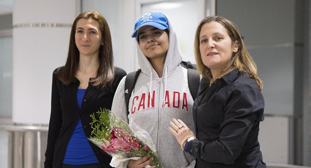 Odbegla Saudijka stigla u Kanadu