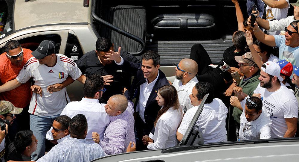 Gvaido se vratio u Venecuelu – slede protesti i hapšenje?