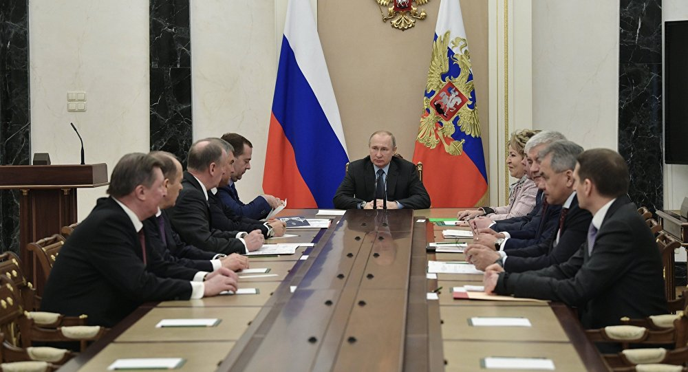 Putin sa Savetom bezbednosti o špijunskoj aktivnosti duž ruskih granica