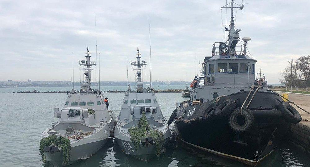 Rusija negira optužbe Ukrajine: Brodovi vraćeni u normalnom stanju