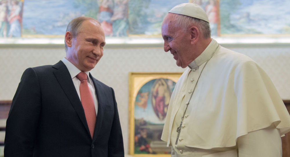 Putin kod rimskog pape u julu