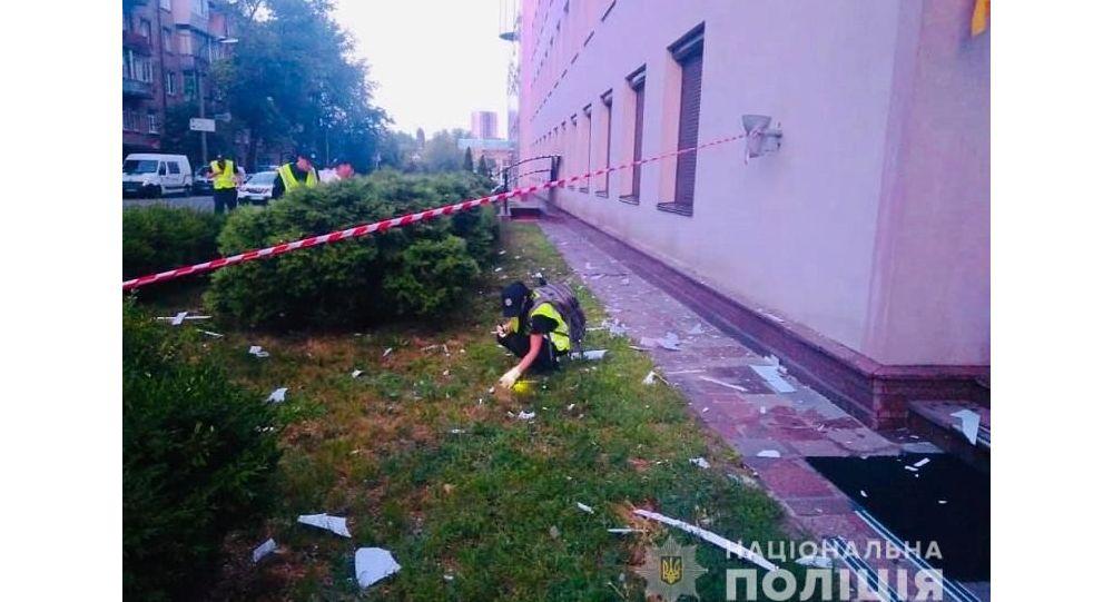 Pucnjava u Kijevu, oštećena zgrada televizije