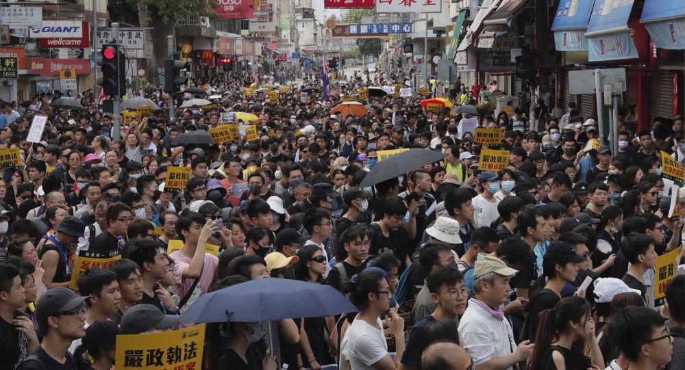 Počeli veliki protesti u Hongkongu