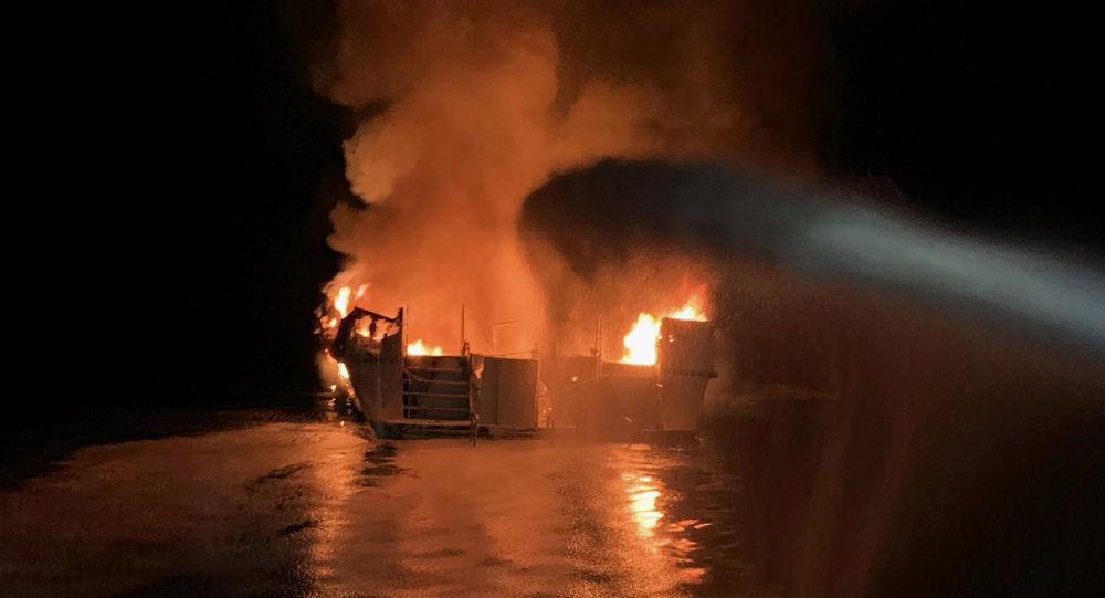 Nekoliko mrtvih, 34 nestalih u požaru na brodu kod Los Anđelesa