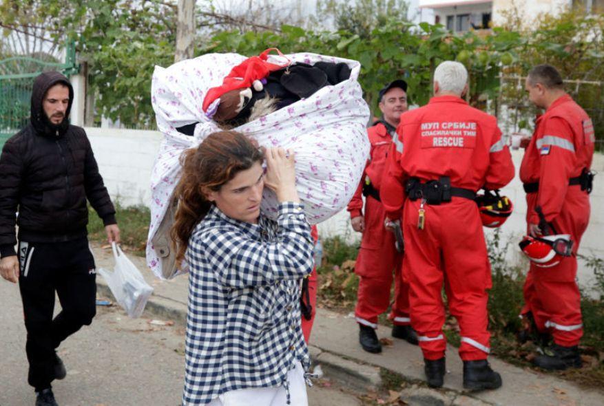 Srpski spasioci na zadatku u Albaniji