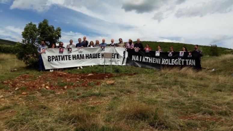 Sudbina nestalih novinara na Kosovu i dalje nepoznata