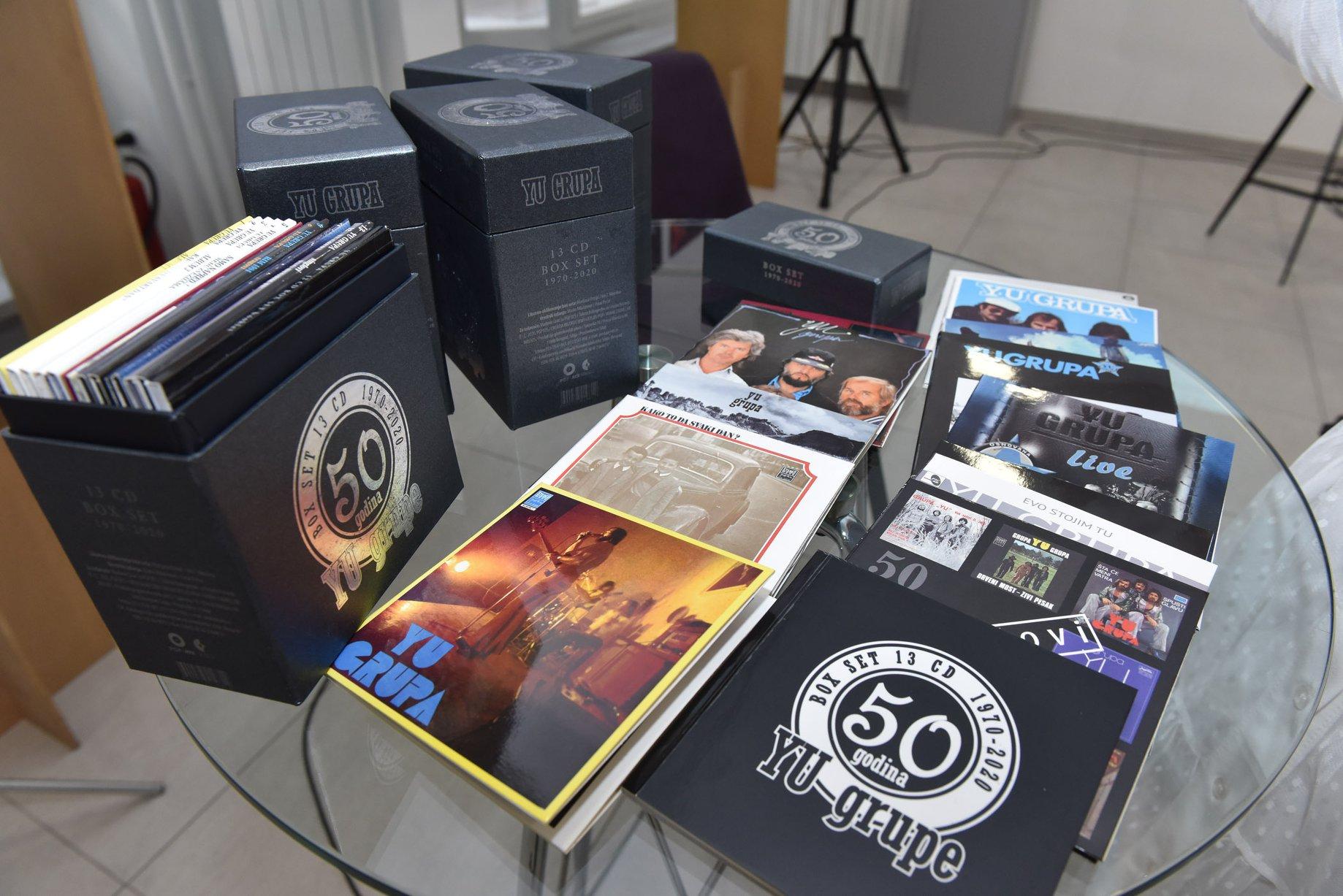 JU grupa obeležila 50. rođendan novom kolekcijom albuma