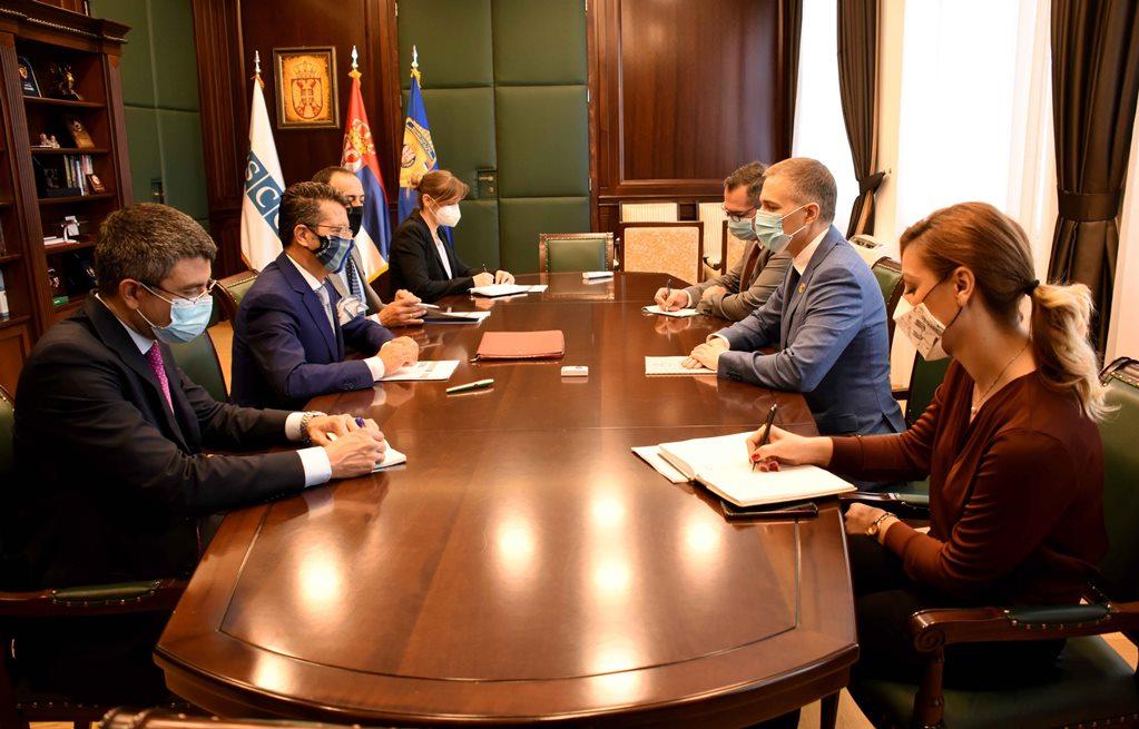 Stefanović sa Oriciom o saradnji Misije OEBS i MUP-a