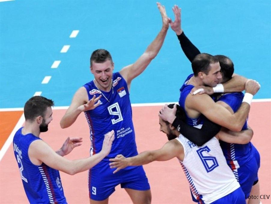 Odbojkaši Srbije u četvrtfinalu Evropskog prvenstva!