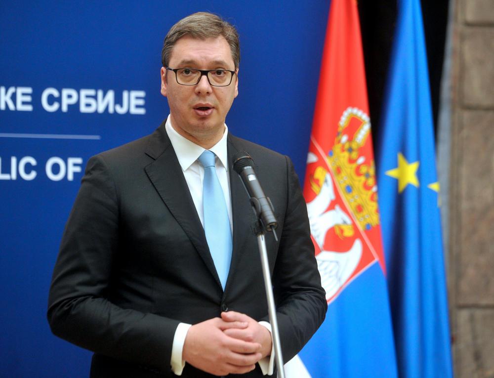 Vučić se obraća na sastanku GS UN povodom godišnjice
