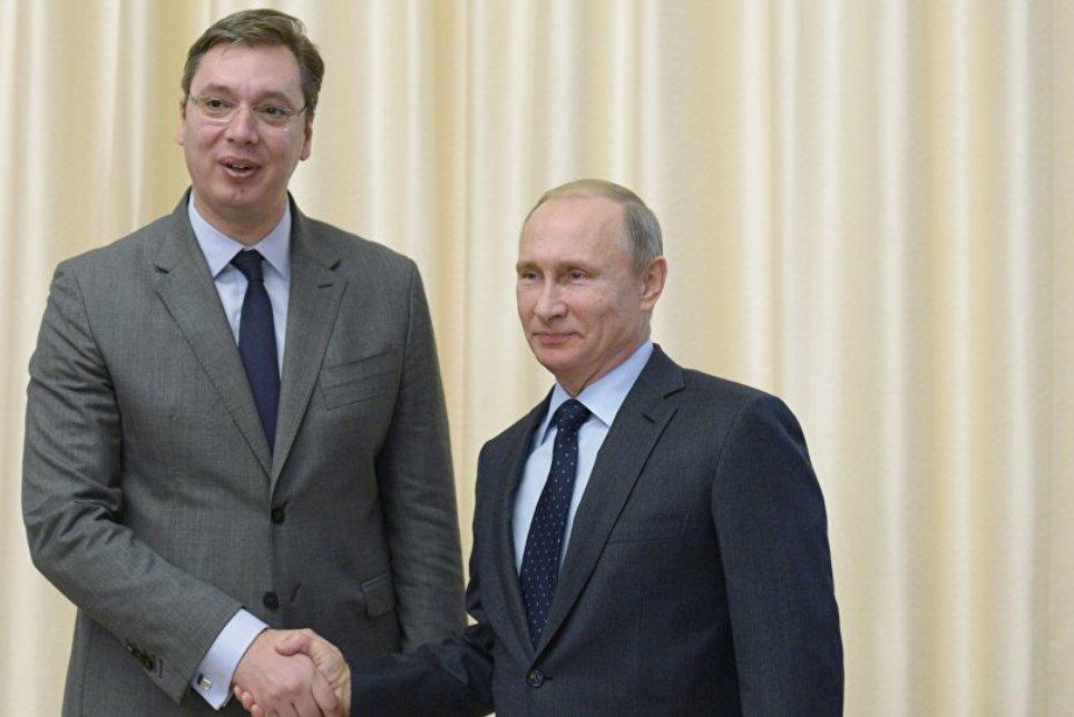 Počeo sastanak Putina i Vučića u Moskvi