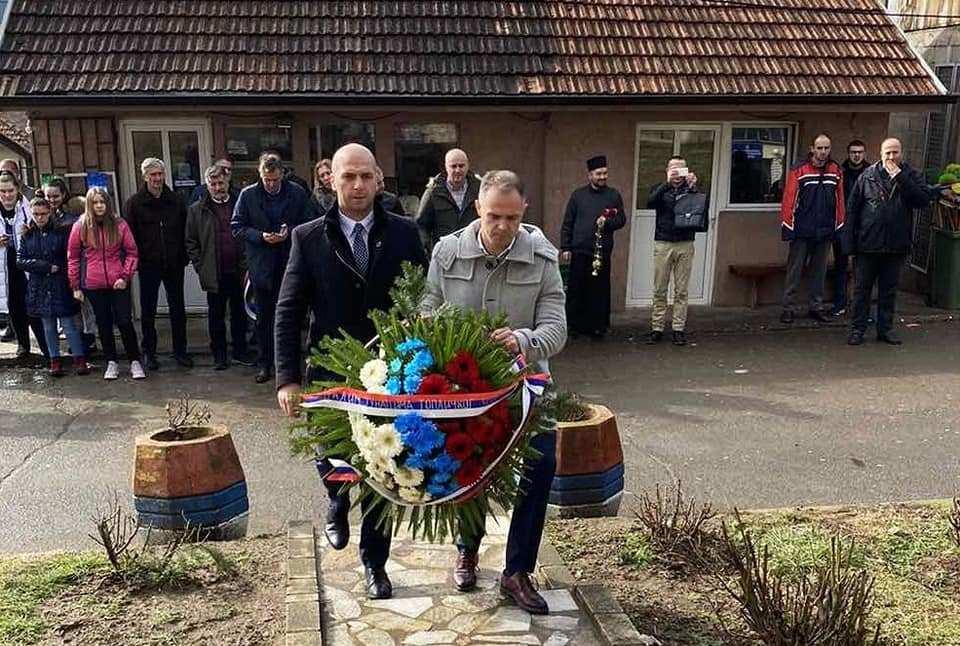 Leposavić: Položeni venci na spomenik žrtvama Topličkog ustanka