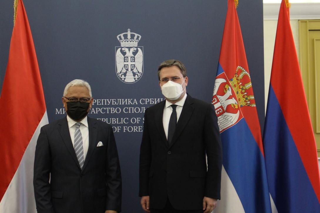 Selaković: Intenzivirati ukupnu saradnju Srbije i Indonezije