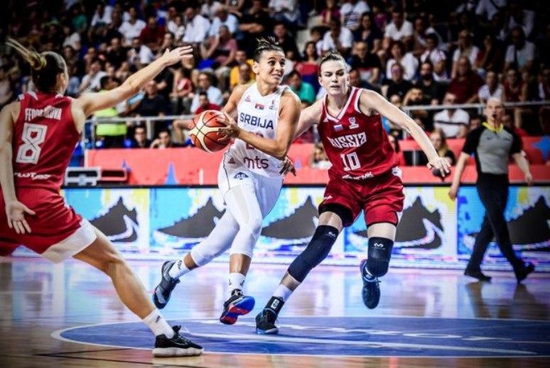 Košarkašice Srbije savladale Rusiju, protiv Belgije za četvrtfinale