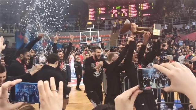 Košarkaši Partizana posle drame osvojili Kup Koraća