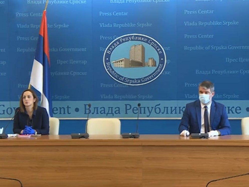 U Republici Srpskoj zaraženih 381, preminulih 14, a izlečene 102 osobe