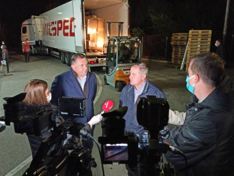 Treći kontingent pomoći Srbije stigao u Srpsku