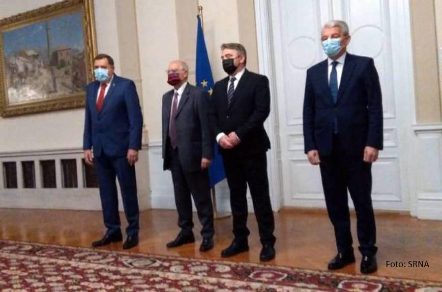 Borelj u Sarajevu, Dodik: Konsenzus o evropskom putu - vredno dostignuće BiH