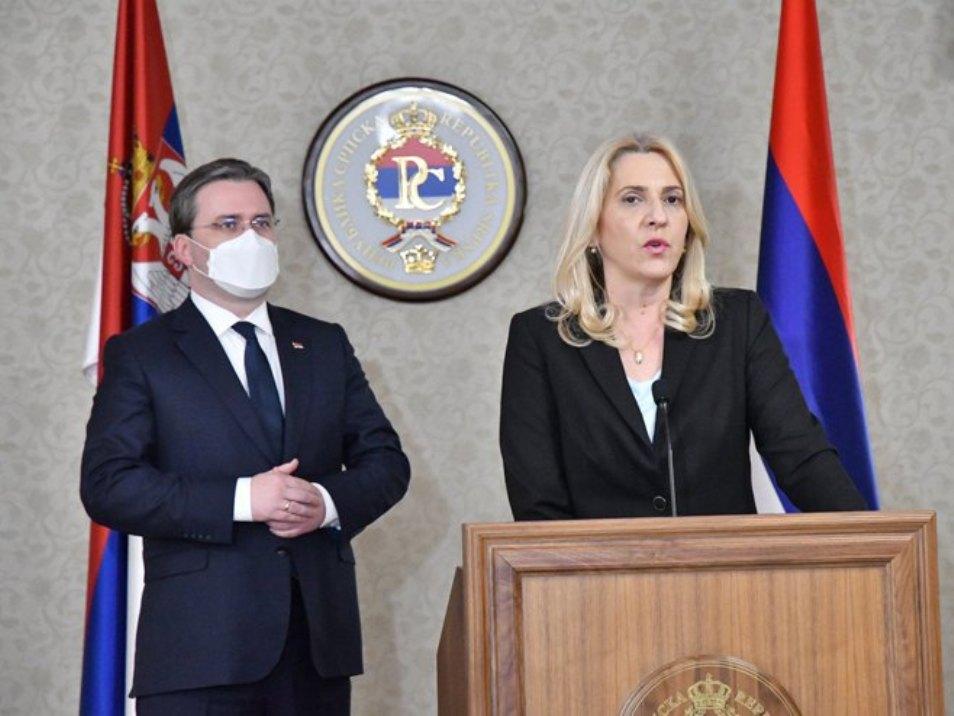 Selaković i Cvijanovićeva o saradnji na jačanju srpske dijaspore