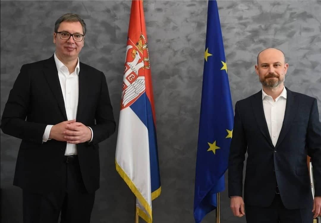 Vučić sa Bilčikom: Važni razgovori u Briselu se nastavljaju