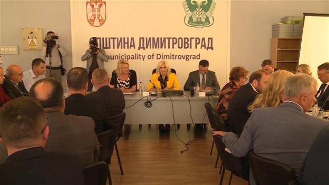Mihajlović sa predstavnicima svih okruga u Srbiji