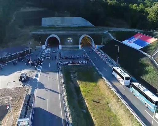 """Svečano otvoren auto-put """"Miloš Veliki"""""""