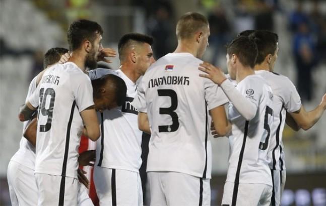 Partizan prekinuo crnu seriju, Tošić srušio Čukarički