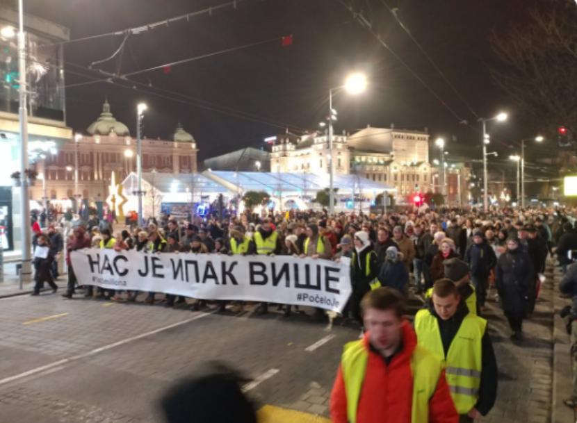 Novi protest