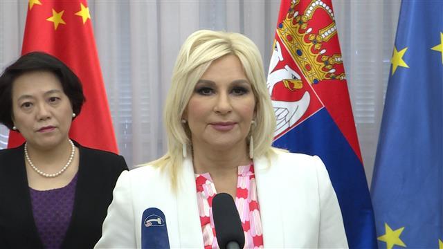 Mihajlović i Čen: Pomoć kineskim firmama u Srbiji