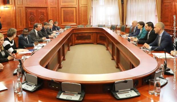 Ana Brnabić sa potpredsednikom Svetske banke za Evropu