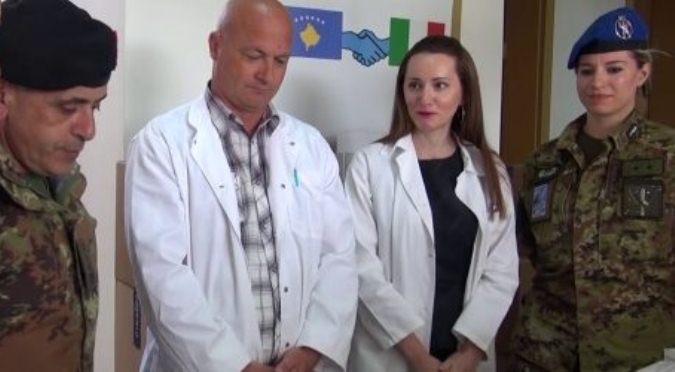KFOR donirao lekove Domu zdravlja u Goraždevcu