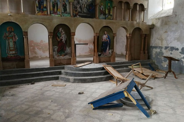 BiH: Vandalizovana crkva, Linta osudio