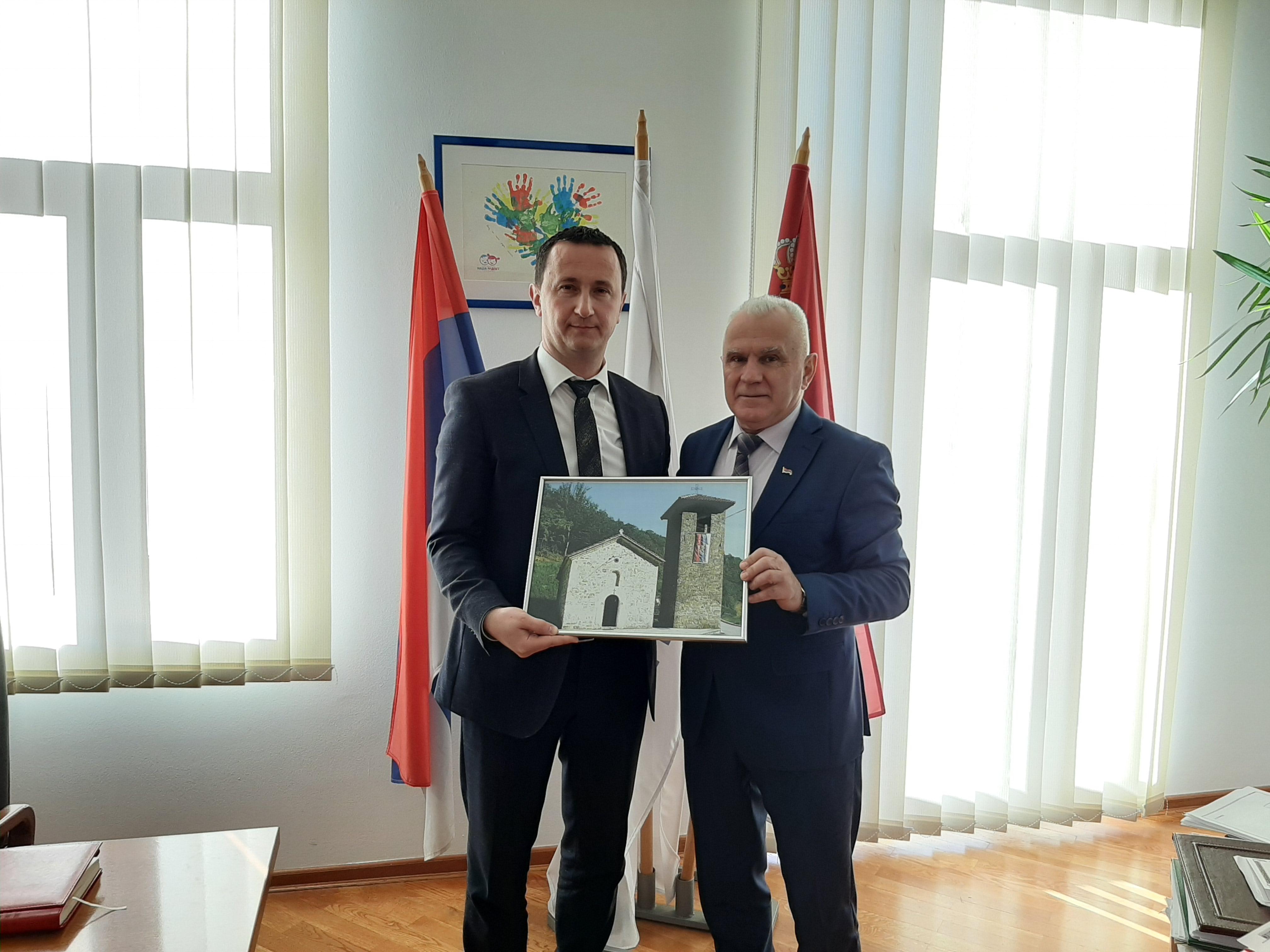 Ćurić: Grad Trebinje će uvek pomoći braći na Kosovu i Metohiji
