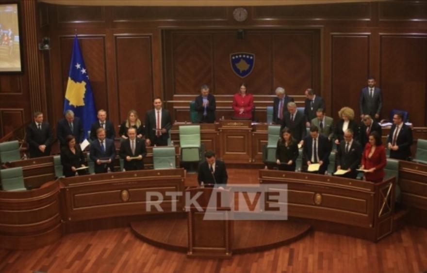 Izabrana nova Vlada Kosova