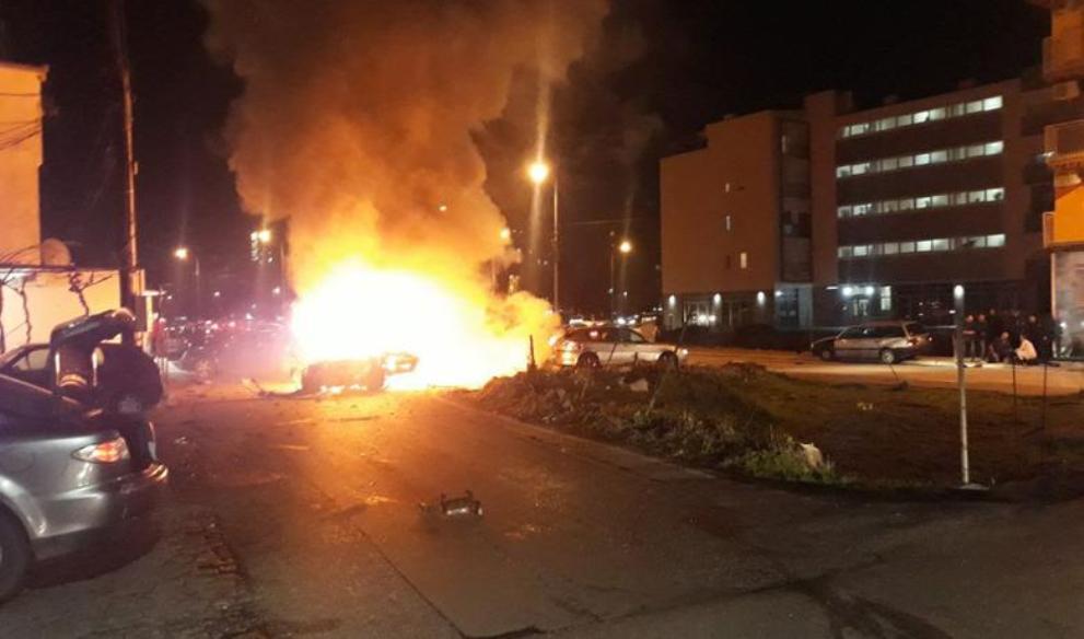 Bomba raznela automobil u Podgorici, jedan muškarac stradao
