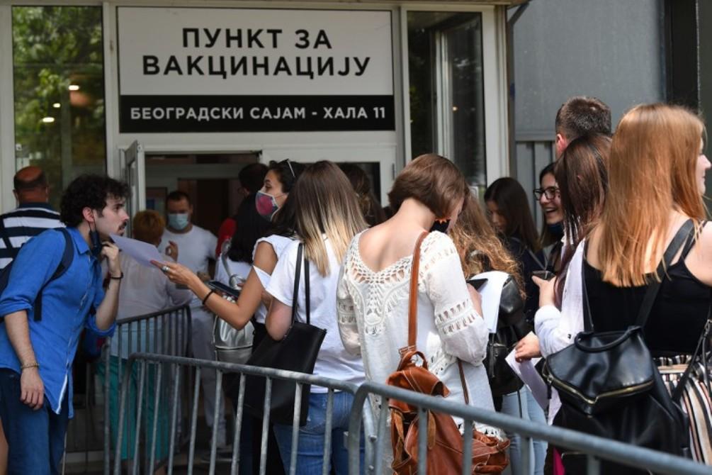 Studenti medicine iz Sarajeva vakcinisali se u Beogradu